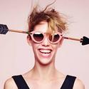 Karen Walker Flowerpatch - Arrowed by Karen Cat Eye Sunglasses