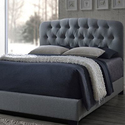 Wellington Tufted Arch Bed