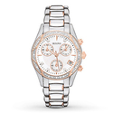 Bulova Women's 98R149 Anabar Rose Gold Stainless Steel Watch