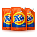 Tide Smart Pouch Original Scent HE Turbo Clean Liquid Laundry Detergent