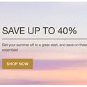 Summer Sale Up to 40% OFF+Extra 20% OFF