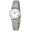 Longines La Grande Classique White Dial Stainless Steel Ladies Watch