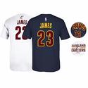 2016 LeBron James Cleveland Cavaliers NBA Finals Jersey T-shirt