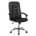 High Back Leather Executive Office Desk Task Computer Chair