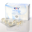 K-Y Liquibeads Feminine Vaginal Moisturizer Liquid Beads, Ovule Inserts, 6 Count