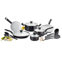 T-fal C921SG Initiatives Ceramic Nonstick Cookware Set
