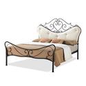Alanna Shabby Chic Wrought Iron Bed