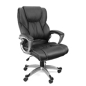 Black PU Leather High Back Office Chair