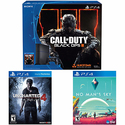 Sony PlayStation 4 500 GB Black Console + No Man's Sky + Uncharted 4