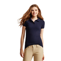 Aaeropostale Womens Solid Uniform PiquT Polo Shirt