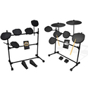 Pyle Electronic Drum Kit System (7- or 5-Pad)
