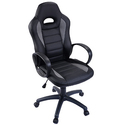 PU Leather High Back Executive Race Car Style Bucket Seat