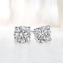 Tanga: Up to 85% OFF Diamond Stud Earrings