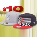 Lids: Select MLB Headwear only $10