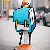 城会玩:开学时的书包得这样背