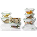 Glasslock Food Storage Container Sets
