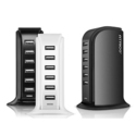 Atrico 40W ETL-Certified 6-Port USB Smart Charger