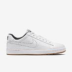 女士经典白色网球鞋