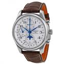 浪琴表名匠系列自动计时男装手表