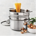 Sur La Table Tri-Ply Stainless Steel Stockpot