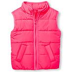 Toddler Girls Puffer Vest