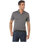 Short Sleeve Open Collar Polo