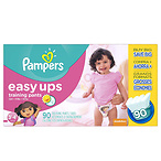Pampers Easy Ups For Girls
