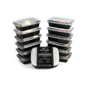 8-Pack Bolt Goods Meal Prep Containers with Lids