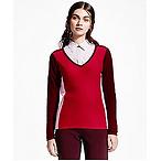 Color Block Cashmere Sweater