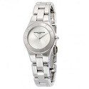Baume ET Mercier Linea Sliver Dial Stainless Steel Ladies Watch