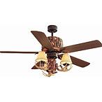 Lodge Nutmeg Ceiling Fan