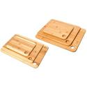 Bamboo Cutting-Board Set (3-Piece)