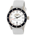 Armani Exchange Stainless Steel Nylon Strap Watch
