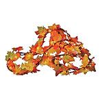 Sylvania Lighted Leaf Garland