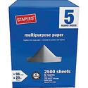 """Staples® Multipurpose Paper, 8 1/2"""" x 11""""5 Ream Case"""