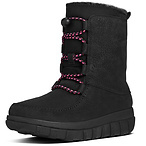 Sporty Toggle Laced Boots