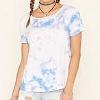 Tie-Dye Print Top