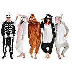 Cozy Plush Animal Bodysuits