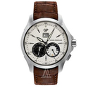 Girard-Perregaux Men's Traveller Large Date Moonphases GMT Watch