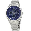 Seiko Chronograph Blue Dial Men's Watch