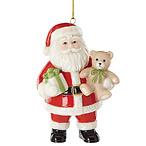 Good Tidings Santa Ornament