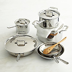 All-Clad 10pc Cookware Set