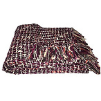 Woven Throw Blanket Purple