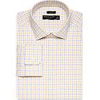 Yellow Check Dress Shirt
