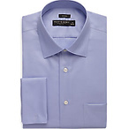Blue French Cuff Dress Shirt