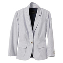 Women's Factory Striped Shrunken Blazer