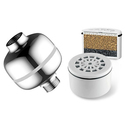 HotelSpa Universal Shower Filter w/Disposable Cartridge