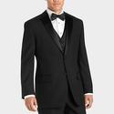 Wilke Rodriguez Black Portly Fit Tuxedo