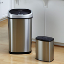 Nine Stars Stainless Steel 13.2, 2.1 G Trash Cans