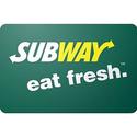 Subway $100 Gift Card